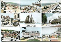 Blonville Sur Mer - Multi-vues - Oblitération Du 13 Juin 1970 - Frankreich