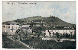 FOGLIARO E DINTORNI VARESE FORMATO PICCOLO VIAGGIATA - Varese