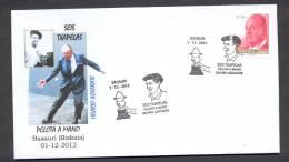 6.- 002  SPAIN ESPAGNE 2012. BASQUE BALL. PELOTA VASCA. SIX TXHAPELAS. BASAURI. VIZKAYA. PELOTA A MANO - Sellos