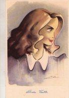 ALIDA  VALLI  , Attrice , Caricatura , Illustratore Nino Za  * - Schauspieler