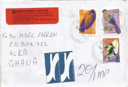 South Africa 2007 Bloubergrant Coral Beauty Fish Triggerfish Barcoded Registered Cover - Zuid-Afrika (1961-...)