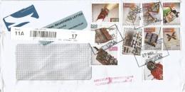 South Africa 2013 Roggebay Handicrafts Barcoded Registered Cover Handstamp Accepted After Final Despatch - Zuid-Afrika (1961-...)
