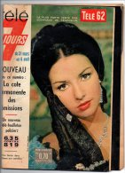 051F) 2  REVUES PROGRAMME RADIO TELE ANNEE 62 - Télévision