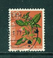 SWITZERLAND - 1974  Pro Juventute  30+20c  Used As Scan - Pro Juventute