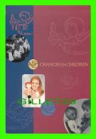 FEMMES CÉLÈBRES - SARAH, THE DUCHESS OF YORK IN 1994  CHANCES FOR CHILDREN - EYECARDS - - Femmes Célèbres