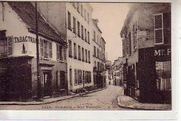 92 SCEAUX - Rue Voltaire Coin Rue Houdan- Magasins TABAC - RESTAURANT , CHARCUTERIE -  Chien Dans La Rue - Sceaux