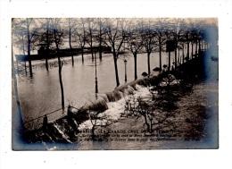 Paris Inondations , Porte De Bercy  , Carte Photo - Paris Flood, 1910
