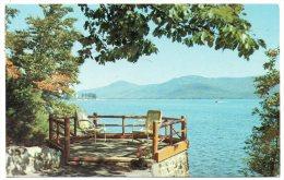 CP, ETATS-UNIS, ADIRONDACK, An Inspiring View Of Lake George...Voyagé En 1968 - Adirondack