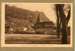 Salins-les-Bains (Jura) Promenade Barbarine. - Non Classés