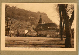 Salins-les-Bains (Jura) Promenade Barbarine. - Unclassified
