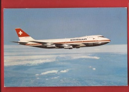 BTRA-12 Boeing 747 B . Swissair.  Circulé En 1975 - 1946-....: Moderne