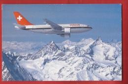 BTRA-13 Airbus A310 Europ Sur Les Alpes Suisses, Swissair - 1946-....: Modern Tijdperk
