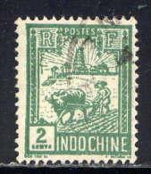 INDOCHINE - N° 128° - RIZIERE - Oblitérés