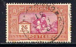 INDOCHINE - N° 141° - SCULPTEUR SUR BOIS - Used Stamps
