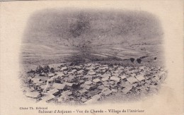 COMORES - SULTANAT D'ANJOUAN -VUE DU CHANDA - VILLAGE DE L'INTERIEUR. - Comoros