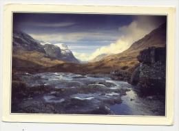 Scotland - The Three Sisters Of Glencoe - Formato Exstra Grande Viaggiata - D - Argyllshire