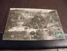 A38..CPA.63..(PUY DE DOME)MAYRES.Chapelle,Viaduc.Village Du Pont Et Route D'Arlanc.rare Beau Plan .écrite & Voyagée 1914 - Otros Municipios