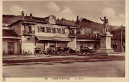 ALGERIE - CONSTANTINE - LA GARE. - Constantine