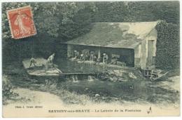 SAVIGNY-sur-BRAYE - Le Lavoir De La Fontaine - France