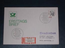 FDC Brief Deutschland Bund Einschreiben 1992 Bonn 400 Frauen Der Deutschen Geschichte  Ersttag - [7] Federal Republic