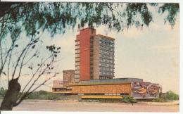 Mexico D.F. - Ciudad Universitaria - Rectoria - University - Architecture - 2 Scans - Stamp & Postmark - Mexico