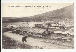 ALBANIE , ALLIANCE SANTI , Quaranta , Vue Générale , A Panorama , Editeur: Ch. Collas à COGNAC , 1918 - Albanie