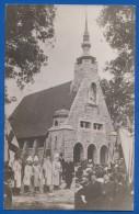 Deutschland; Lützen; Gustav Adolf Kapelle Mit Denkmal Und Königlicher Besuch; 1908 - Lützen