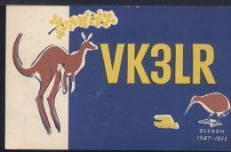 WB372 QSL VK3LR 1977 MELBOURNE , FREDK. CROPLEY - Melbourne