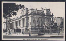 WB373 MELBOURNE - MURRAY VIEWS NO27, PARLIAMENT HOUSE - Melbourne