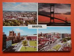 29665 PC: BRISTOL: Bristol Multi View Post Card. - Bristol