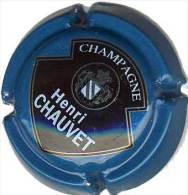 Plaque De Muselet Champagne Henri CHAUVET * - Capsules & Plaques De Muselet