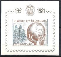 LE MODE DES PHILATELISTE 1981 NEUF**  LUXE