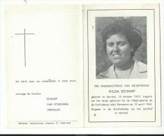 Bidprentje - HILDA SCHAMP - Mortsel 1927 - Vliegtuigramp Kanisaberg Nabij Damascus 1965 - Devotion Images