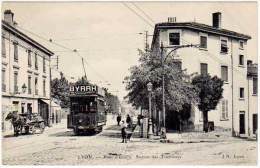 Lyon - Pont D'Ecully - Station Des Tramways (pub Byrrh) - Lyon