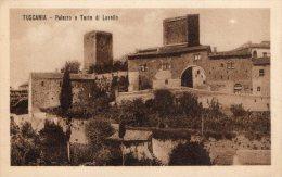 [DC6712] TUSCANIA (VITERBO) - PALAZZO E TORRE DI LAVELLO - Old Postcard - Viterbo