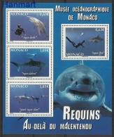 Monaco 2013 Mi bl106 MNH - sharks, fishes, diving