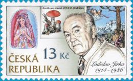 795 Czech Republic Ladislav Jirka, Engraver 2014 - Ungebraucht