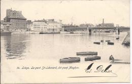 8732 - Liége Le Pont St-Léonard Dit Pont Maghin - Liege