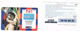 TIM  (TELECOM ITALIA MOBILE ) -  RICARICAT (10^ EDIZ.) 1334 - STATO MAGGIORE DIFESA: IL DAVID  SC. MARZO  2004  - USATA - Italia