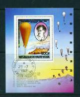 UPPER VOLTA - 1983 Manned Flight Miniature Sheet Used As Scan - Upper Volta (1958-1984)