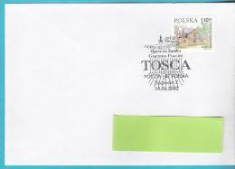 Poland 2002, Szczecin, Opera, Music,  G.Puccini, TOSCA,  Musique - Musique