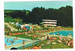 L1365  TROISVIERGES : Piscine Et Campingm ( Schwimmbad, Swimmingpool, Piscine) - Troisvièrges