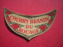 ETIQUETTE CHERRY BRANDY DU BOCAGE - Otros