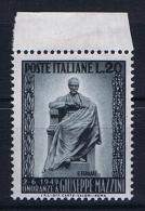 Italy:   Sa 604  Mi 777  MNH/**,hinged At Border - 6. 1946-.. Repubblica