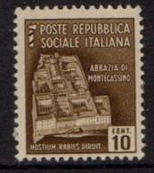 PIA - RSI - 1944-45 - Monumenti Distrutti - (SAS 503) - 4. 1944-45 Repubblica Sociale