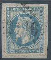Lot N°23910   N°29/fragment, Oblit  GC 2116 LUCON (79), Ind 3 - 1863-1870 Napoléon III Lauré