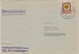 DR 3 Reich Dienst Mi 132 EF Bf Schwenningen Neckar 1943 - Officials