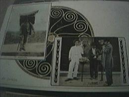 Postcard Used Stamped Franked Rio De Janeiro 1900s Costumes - Rio De Janeiro