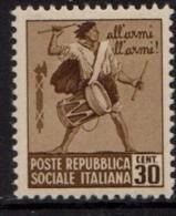 PIA - RSI - 1944-45 - Monumenti Distrutti - (SAS 506) - 4. 1944-45 Social Republic