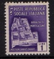 PIA - RSI - 1944-45 - Monumenti Distrutti - (SAS 509) - 4. 1944-45 Repubblica Sociale